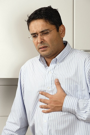 man learns how to heal Acid reflux naturally