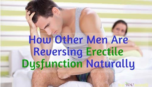 natural ways to reverse erectile dysfunction