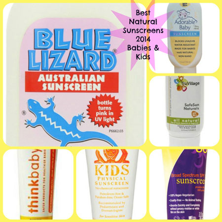 Best Natural Sunscreens For Babies and Children