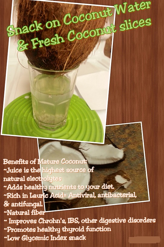healthy-snack-coconut-water