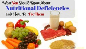 nutritional deficiencies and how to fix them