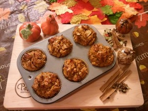 pumpkin apple muffins gluten sugar grain free SMALL 300x225 Pumpkin Apple Muffins Gluten Free, Sugar Free