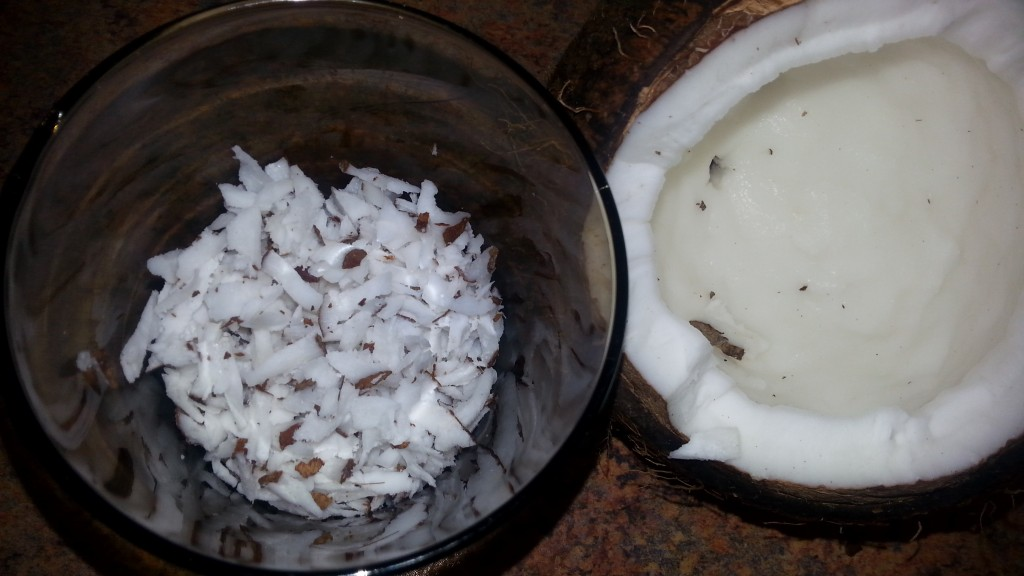 fresh-raw-coconut-for-GF-cookies