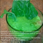 Flavonoids, Anti-inflammatory & Antioxidant Spinach Juice