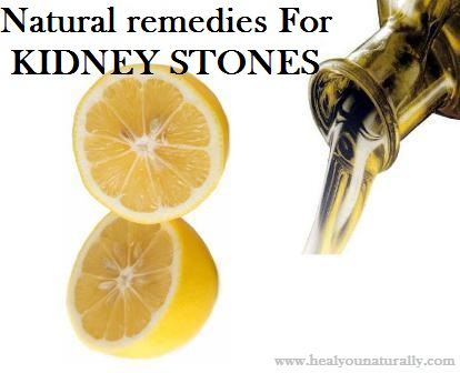 Dissolve Kidney Stones with This Natural Remedy