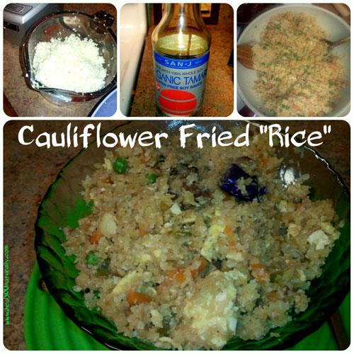 Organic Gluten Free Cauliflower Fried Rice