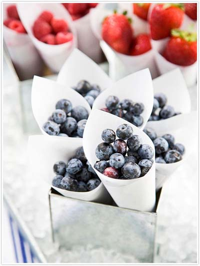 blueberries-strawberries-cones