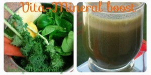 6 Ingredient Juice For an Immediate Boost of Vitamins A,C,B6 and Minerals