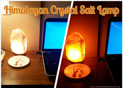 Do Salt Lamps Help With Emf : Himalayan Salt Lamp healYOUnaturally