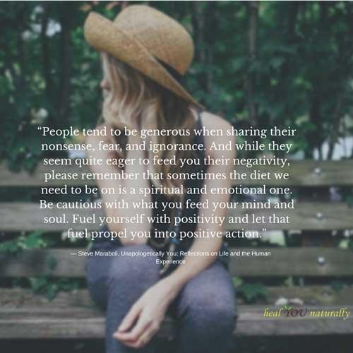 healthy spiritual emotional diet