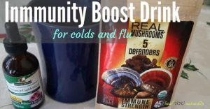 Stop The Flu or A Cold Fast with This Immunity Boost Drink