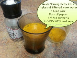 Maximize Detoxing With This Lemon Turmeric Pepper Drink