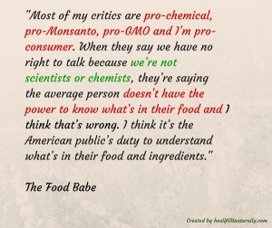 food-babes-statement-informed-consumers