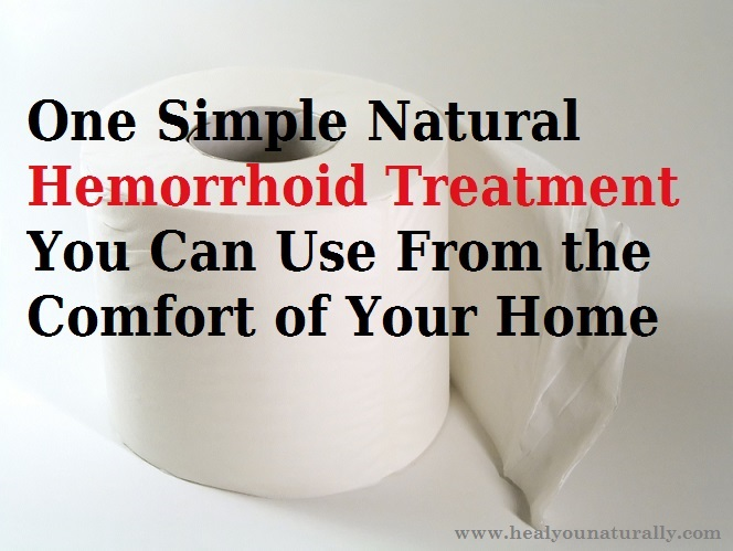 Natural Hemorrhoid Treatment Coconut Oil