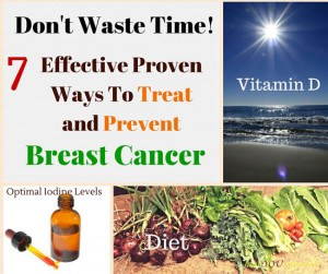 Don't Waste Time! 7 Effective Proven Ways To Treat and Prevent Breast Cancer