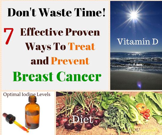 iodine diet sunlight ways to prevent breast cancer