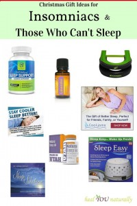 Healthy Gift Ideas: For Insomniacs & Those Who Can't Sleep