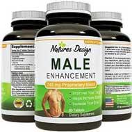 Natural Male Enhancement - Pure Maca Root, L-Arginine & Tongkat Ali Christmas Gifts for Men