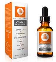 Vitamin C Serum Vitamin C + Hyaluronic Acid Anti Christams presents