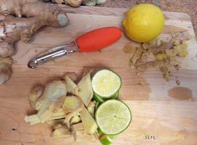 recipe for honey, ginger lemon cold and flu syrup