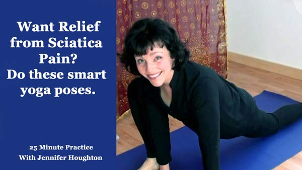 relief from sciatica yoga poses
