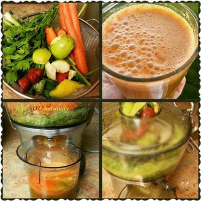 Women's Juice: Uterine Tonic, Cleanser and Hormone Balancing