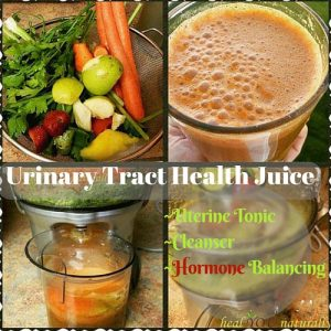 This Juice is for YOU Women: Uterine Tonic, Cleanser and Hormone Balancing