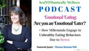 Emotional Eating: Are you an  Emotional Eater? with Theresa Nicassio PhD.