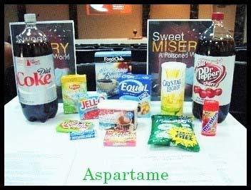 chemical additives aspartame health dangers