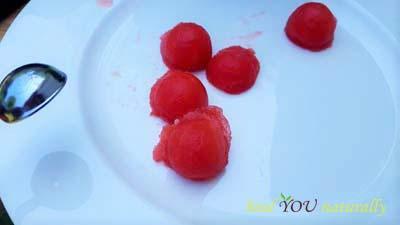 Tinkerbell watermelon fruit teacup