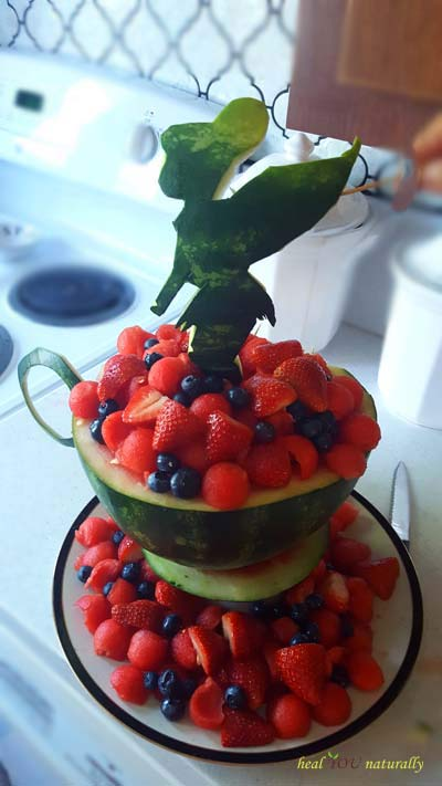 Watermelon Tinkerbell Theme Teacup