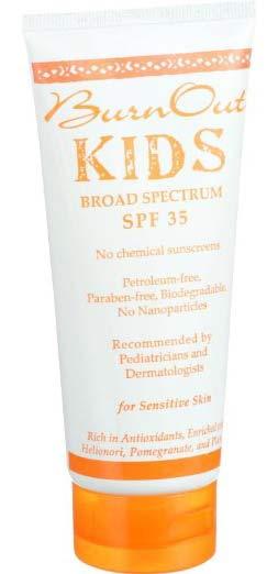 Burnout Kids Sunscreen SPF30
