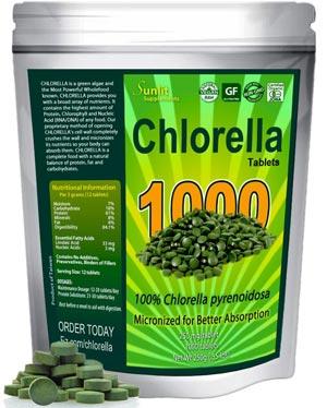 Chlorella organic micronized