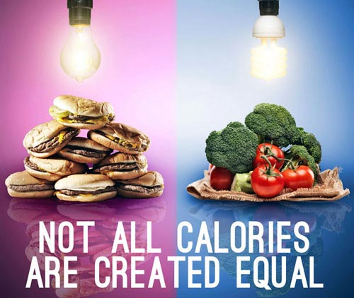 Not all calories are created equal