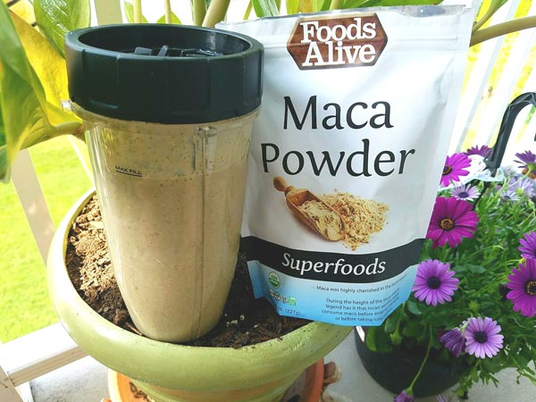 Maca Pre-Workout Smoothie