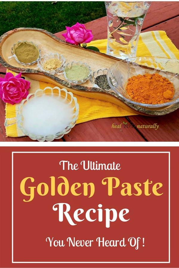 golden paste recipe golden milk