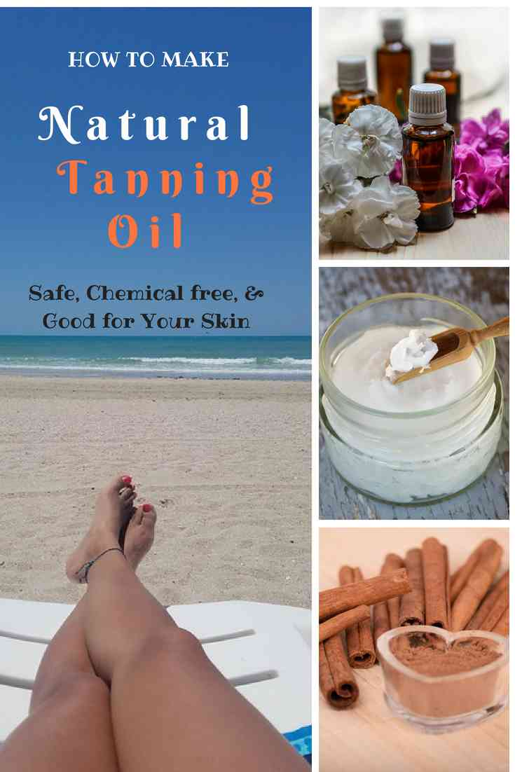 homemade-natural-tanning-oil