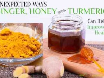honey ginger turmeric health benefits