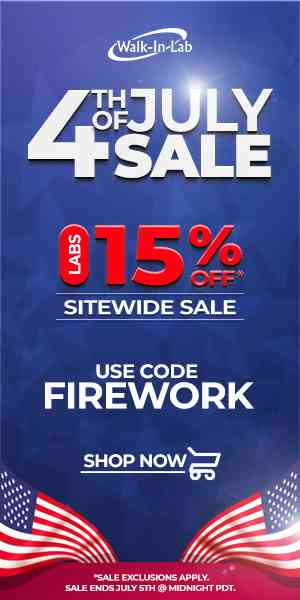 walk in labs fourth of July sales