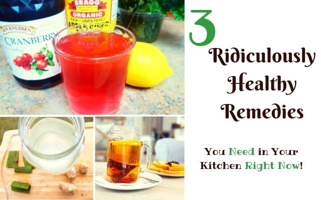 easy healthy natural remedies