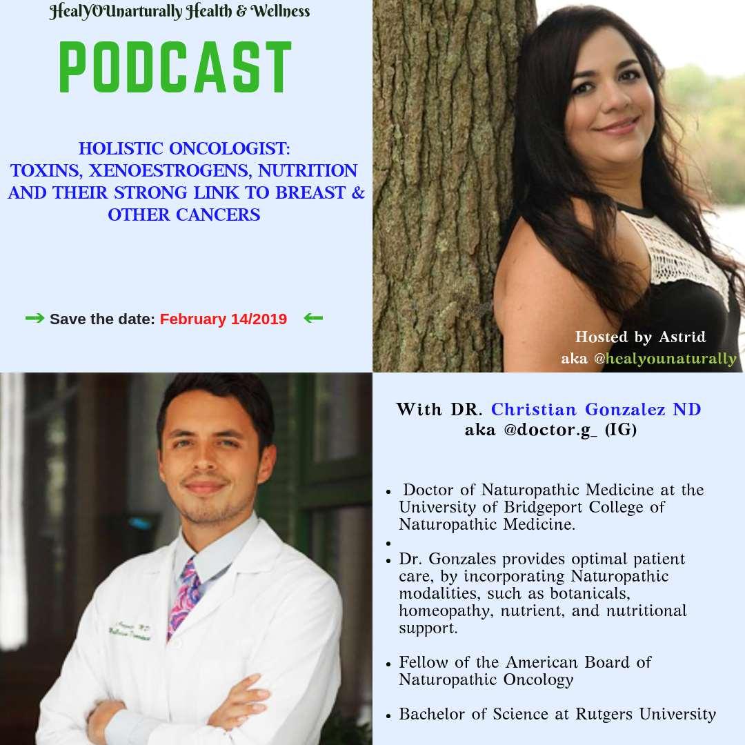 podcast toxins poor nutrition EMFS link to breast cancer