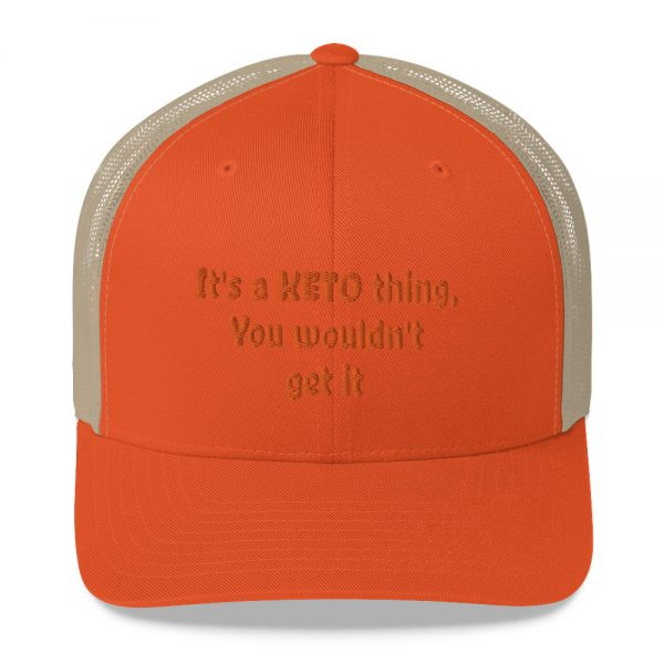 orange hat keto lifestyle