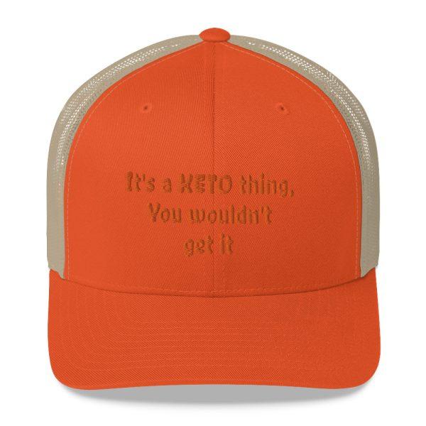 orange hat keto lifestyle