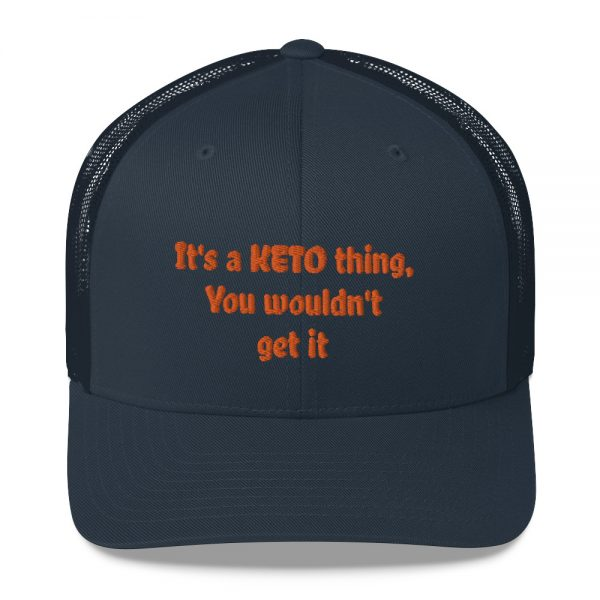 blue hat keto lifestyle