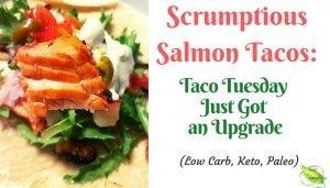 best salmon tacos banner