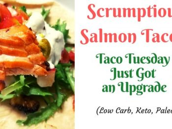 best salmon tacos banner