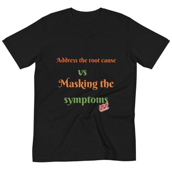 Black T shirt with Logo mockup back