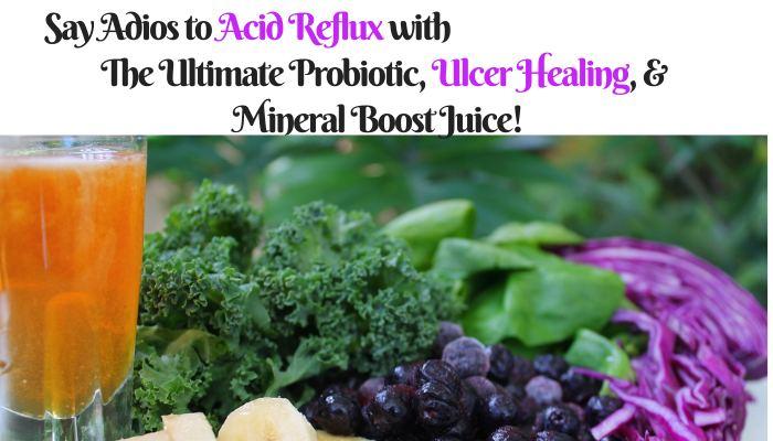 Acid Reflux Probiotic healing Juice