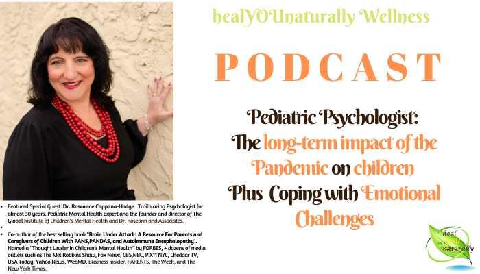 pediatric psychologist Dr. Roseanne mental health in children