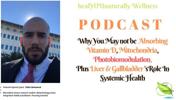 Podcast vitamin D deficiency mitochondria